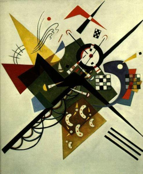 On White II by Kandinsky c1923