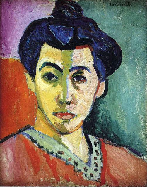Madame Matisse in Green Stripe by Henri Matisse c1905