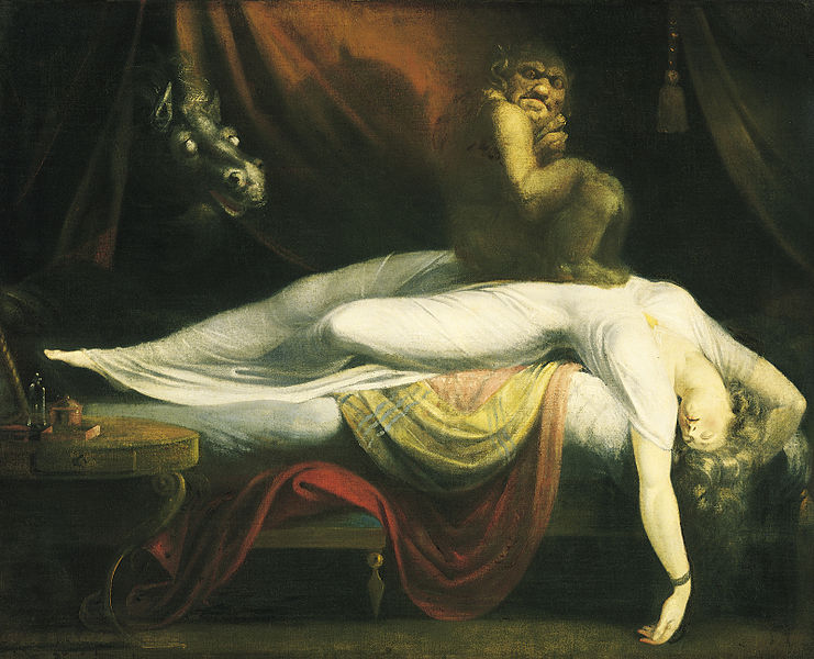 The Nightmare by Johann Heinrich Füssli c1781