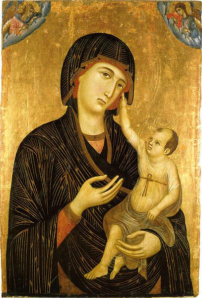 Madonna and Child by Duccio c 1284