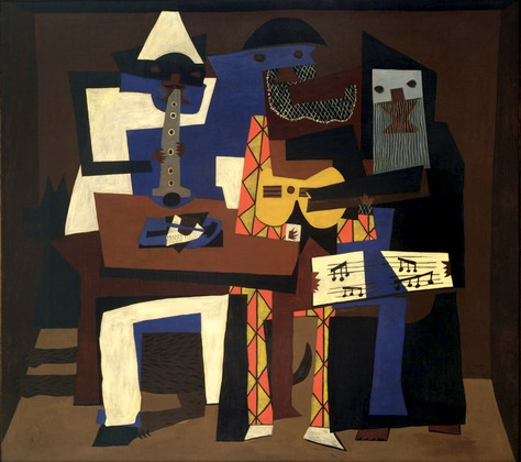 Three Musicians by Pablo Picasso, c1921