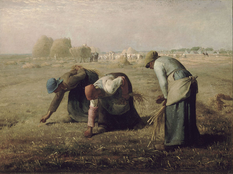 The Gleaners by Jean-François Millet c1857