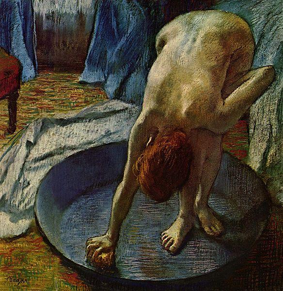Edgar Degas, Woman in the Bath, 1886