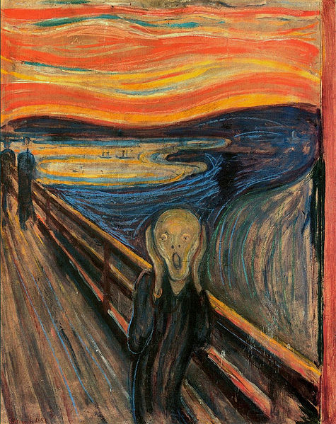 The Scream by Edvard Munch c1893 inspired many Impressionists