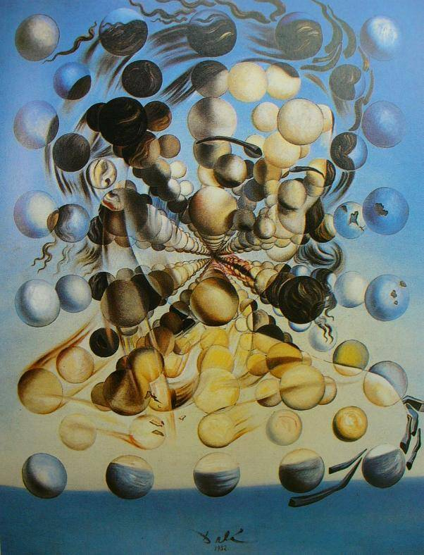 Salvador Dali's Galatea of the Spheres