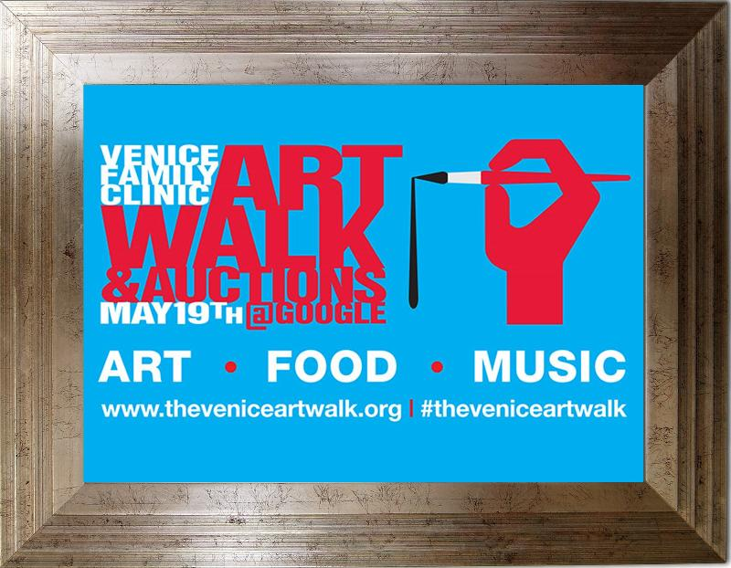 Venice Family Art Walk Poster