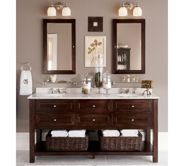 Small Sink Vanity Potterybarn Double Sink For Small - 66 inch bathroom vanity for bathroom decor ideas