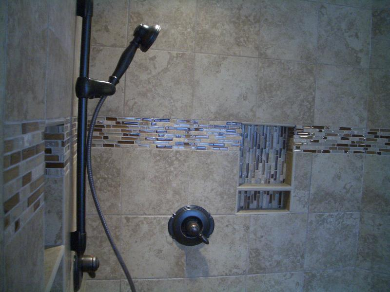 ... Accent Glass Tile And Niche ...