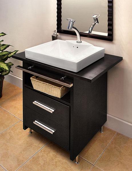 Tiny Bathroom Vanity: 8 Awesome Design Ideas For Half Baths