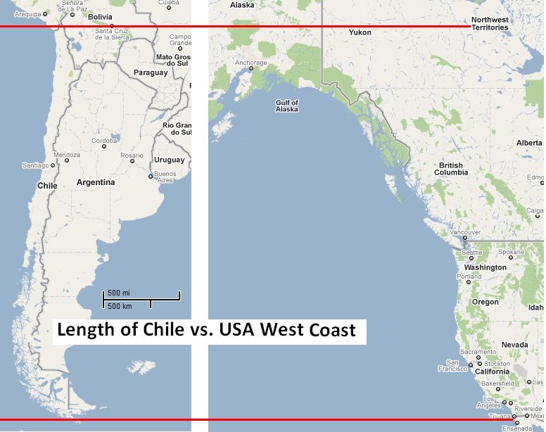 Chile vs. USA West Coast