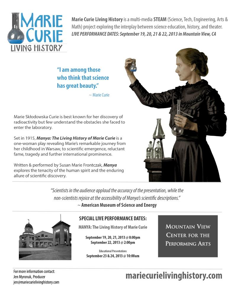 M. Curie Poster