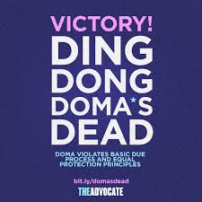 ding dong doma's dead