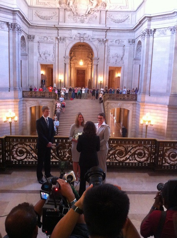 prop 8 couple married