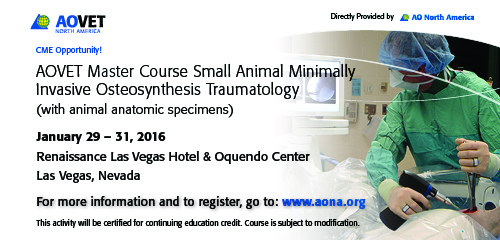 AOVET Master Course ad