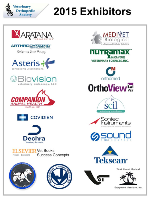 VOS 2015 Conference exhibitors