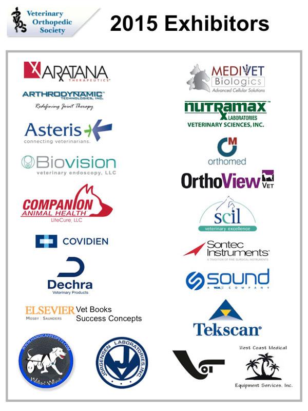 VOS 2015 Conference exhibitors
