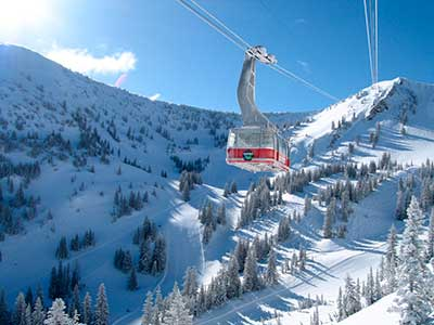 Aerial tram at Snowbird resort