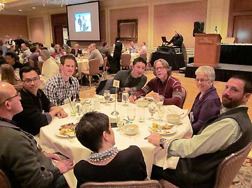 Dinner at 2015 VOS conference