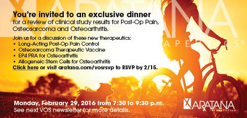 Aratana Therapeutics banner ad