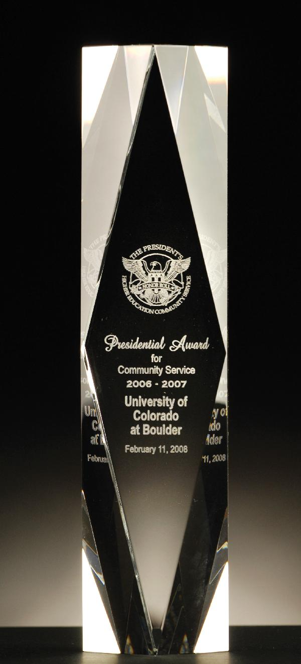 Presidential Award Trophy