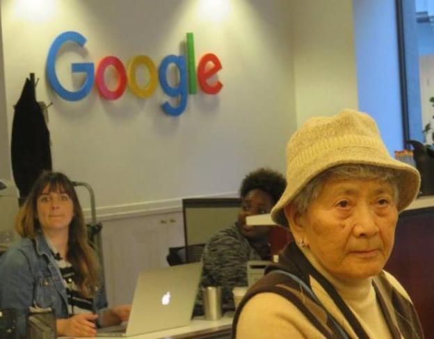 senior at the Google office