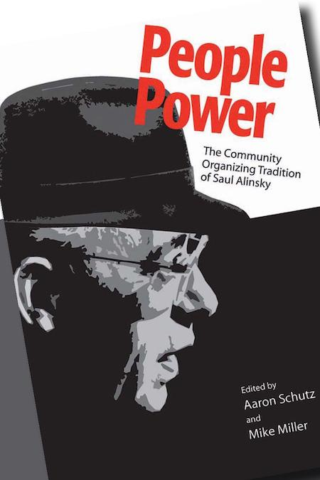 book cover showing Saul Alinsky and the words People Power