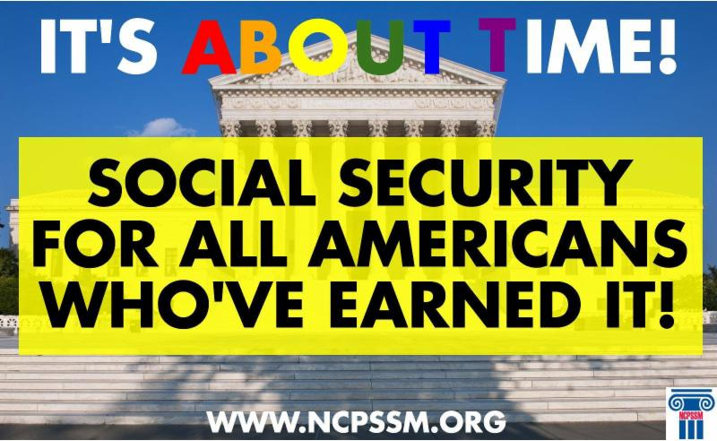 poster about social security