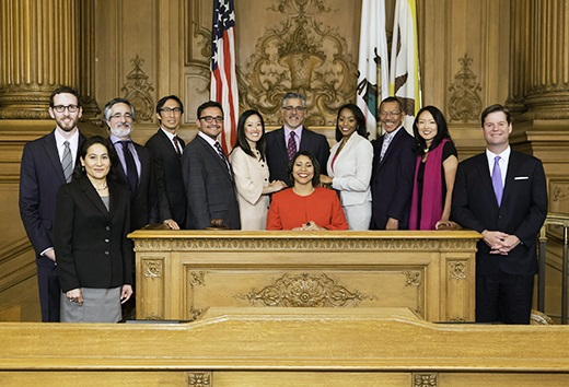 members of the board of supervisors