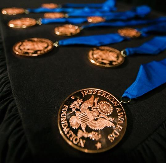 picture of jefferson award medallions