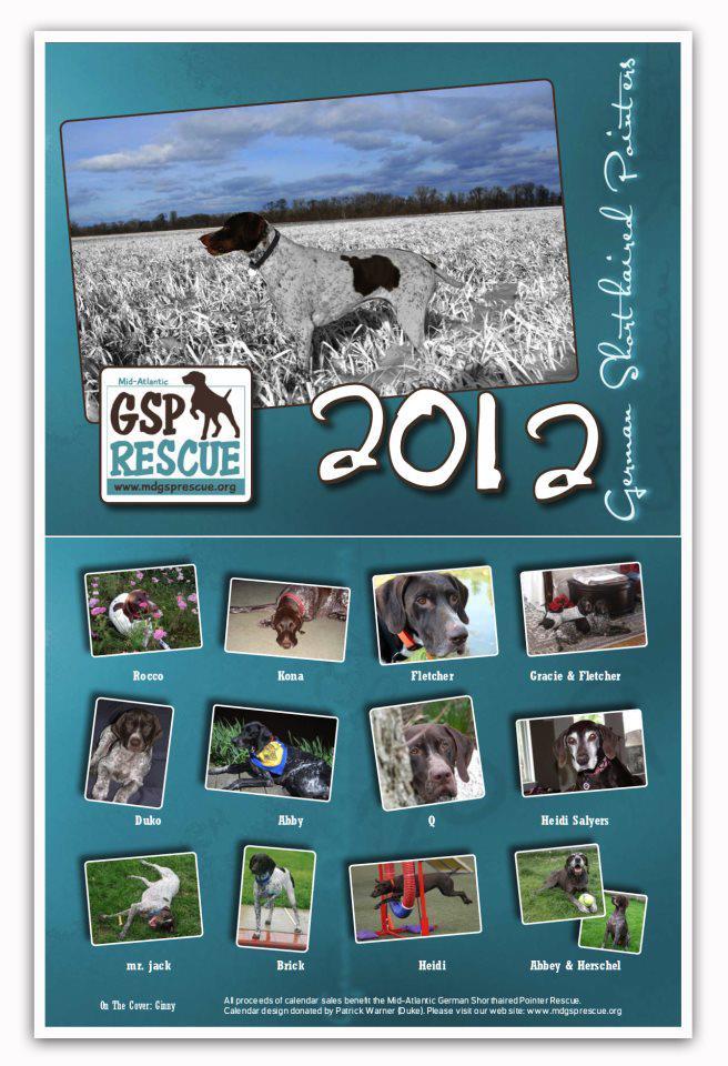 2012 Rescue calendar