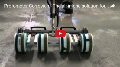 Youtube video Proceq Profometer corrosion