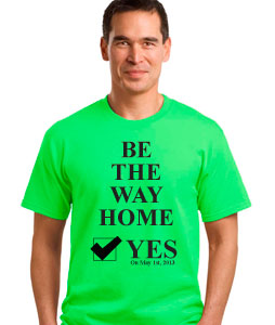 be the way home shirt