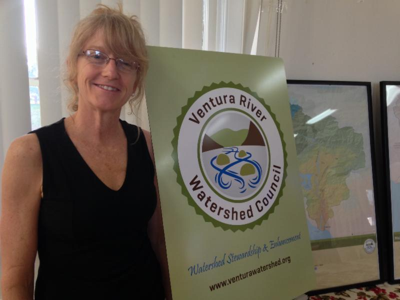 Lorraine Walter heads up the Ventura River Watershed Council