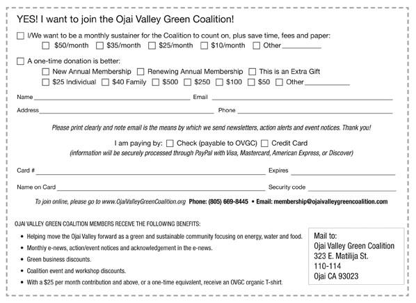 2012 Membership Form