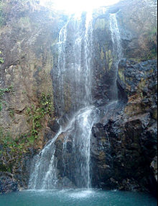 Ecotourism waterfall