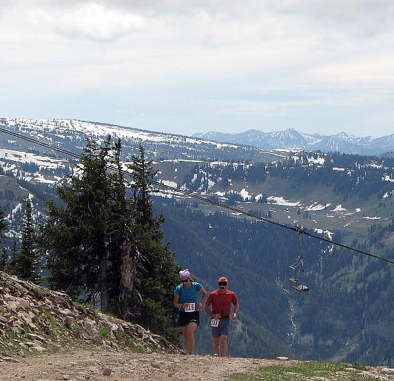 Targhee Hill Climb-Summit