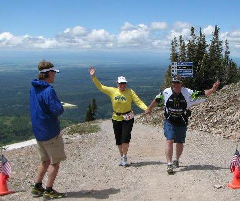Targhee Hill Climb-Finish