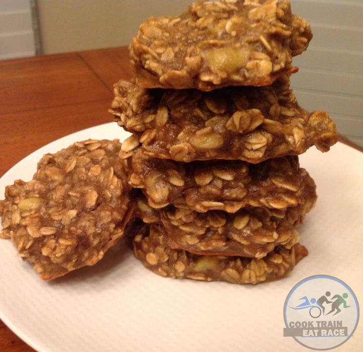 Oat Bannana Cookies