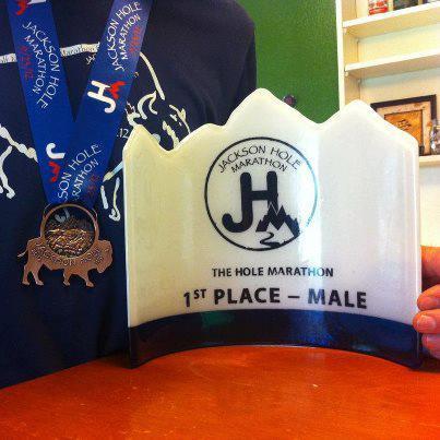 Jackson Hole Marathon Medal 2012