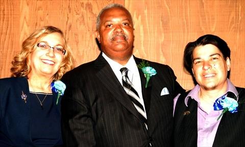 Mrs. Brown, Rev Brown & Councilwoman Rebecca Kaplan_5x3