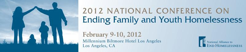 2012 Family and Youth Homelessness Conference