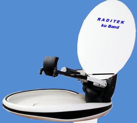 1.5m Vehicle Mount Antenna Ku Band