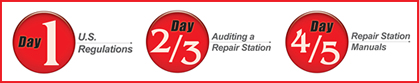 Certified Repair Station Training Days