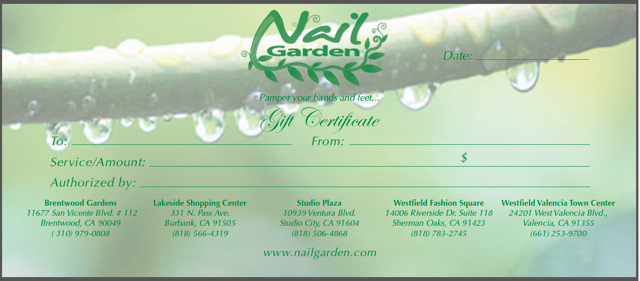 Tis the Season to be pampered @ Nail Garden