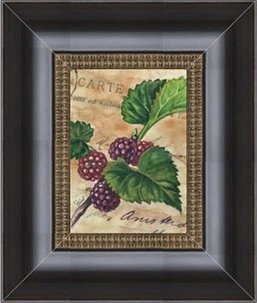 Vintage Berries Framed