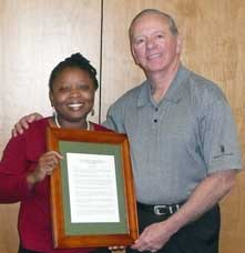 Ron Receives the Board Resolution