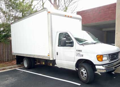 Pathways' new box truck