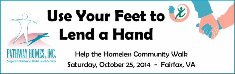 Help the Homeless Walk 2014 Banner