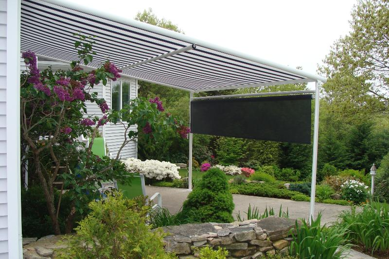 Pinnacle patio awning