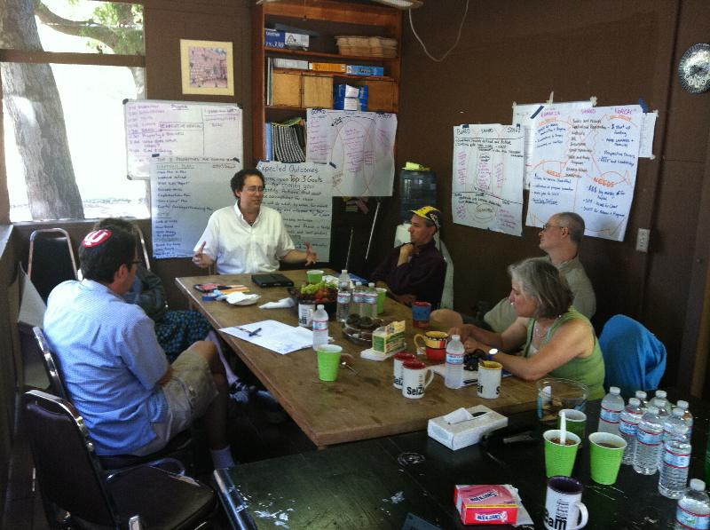nor cal board with rabbi artson summer 2011